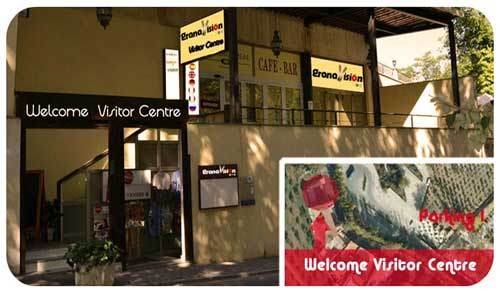 welcome visitor centre Granavision tickets alhambra